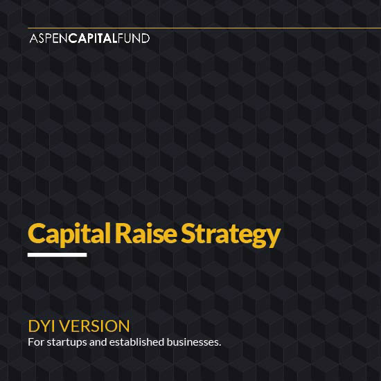 How to raise capital from private investors without just a lot of trial and error from Aspen CapitalFund..